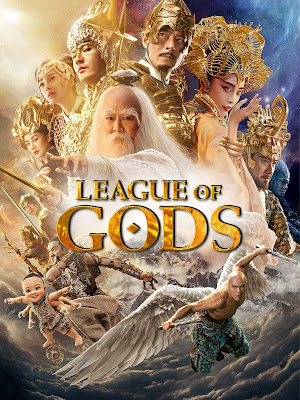 League Of Gods 2017 DVD R1 NTSC Latino