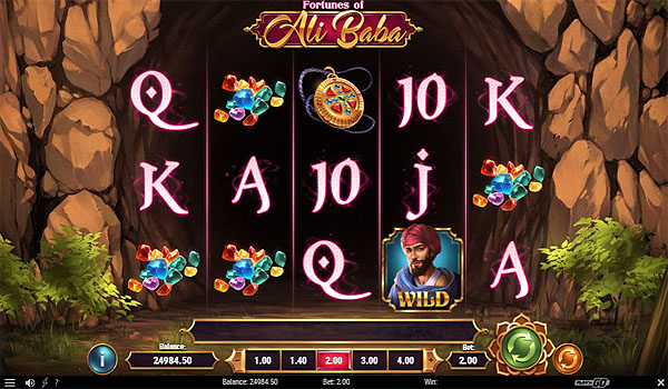 Main Slot Indonesia - Fortunes of Ali Baba (Play N Go)