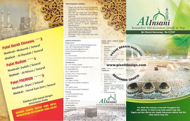 Iklan Brosur Umroh Haji