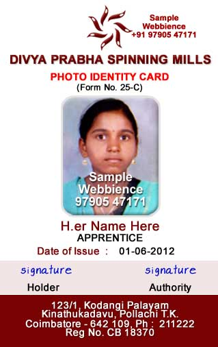 staff id badge template - webbience idcard templates based on form 25c