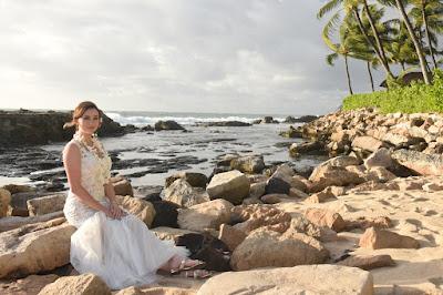 Ko Olina Beach Bride