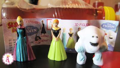 Фигурки Frozen из бутылочек с соком Surprise Drinks