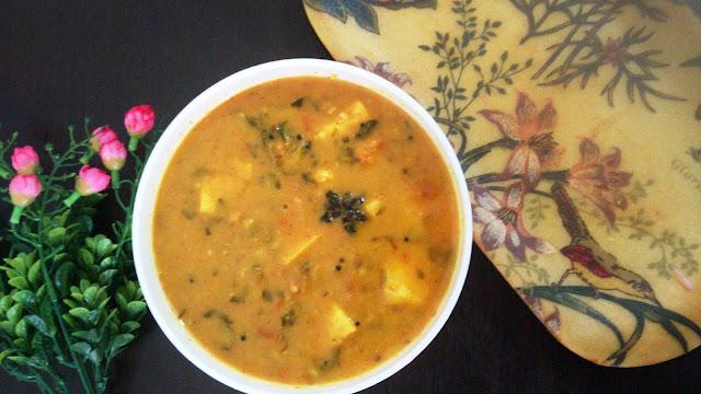 Restaurant Style Lehsuni Methi Paneer foodiezflavor.com