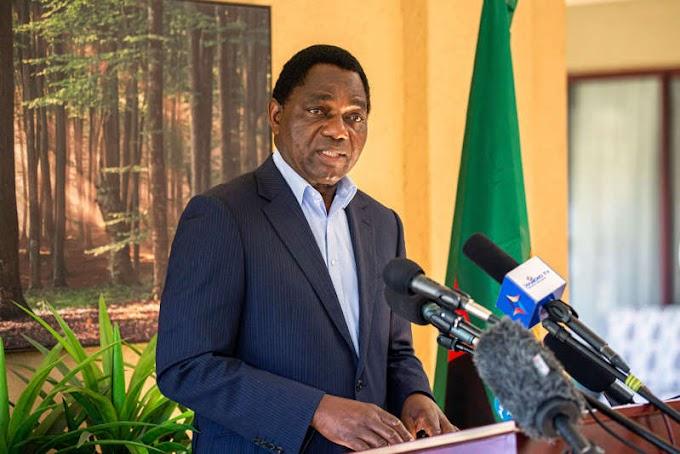 Zambia election: Opposition candidate Hakainde Hichilema declared winner