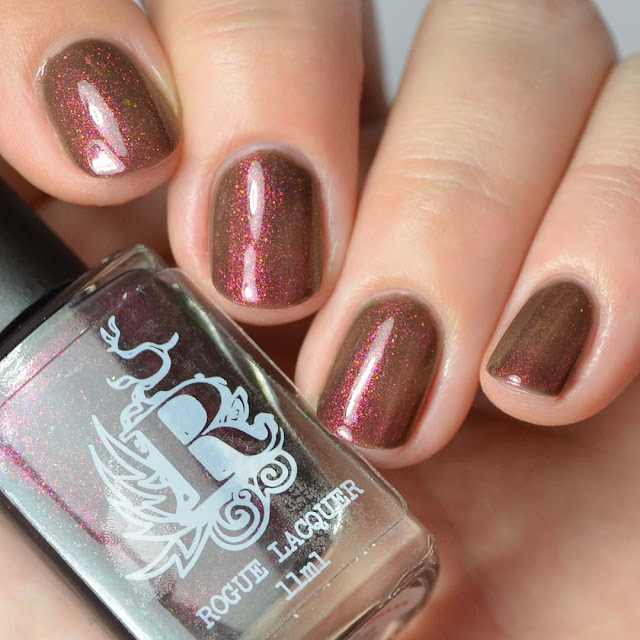 color shifting shimmer nail polish