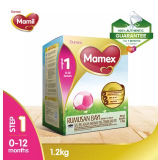 dumex mamex 0-12 bulan