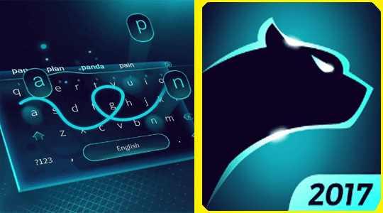 لوحة مفاتيح رائعة للاندرويد Cheetah Keyboard