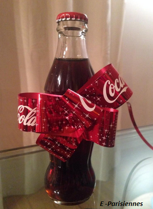 Bouteille collector Noël 2014 coca cola