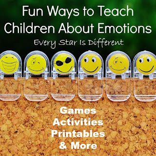 Fun ways to teach children about emotions: activities, printables and more!