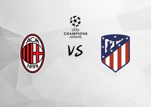 Milan vs Atlético de Madrid  Resumen