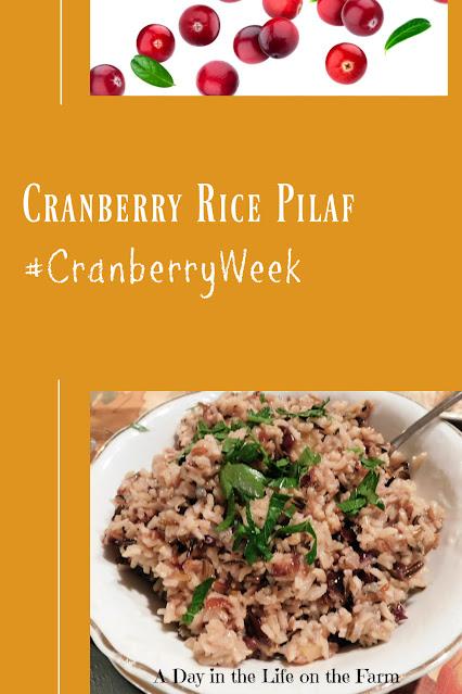Cranberry Rice Pilaf pin
