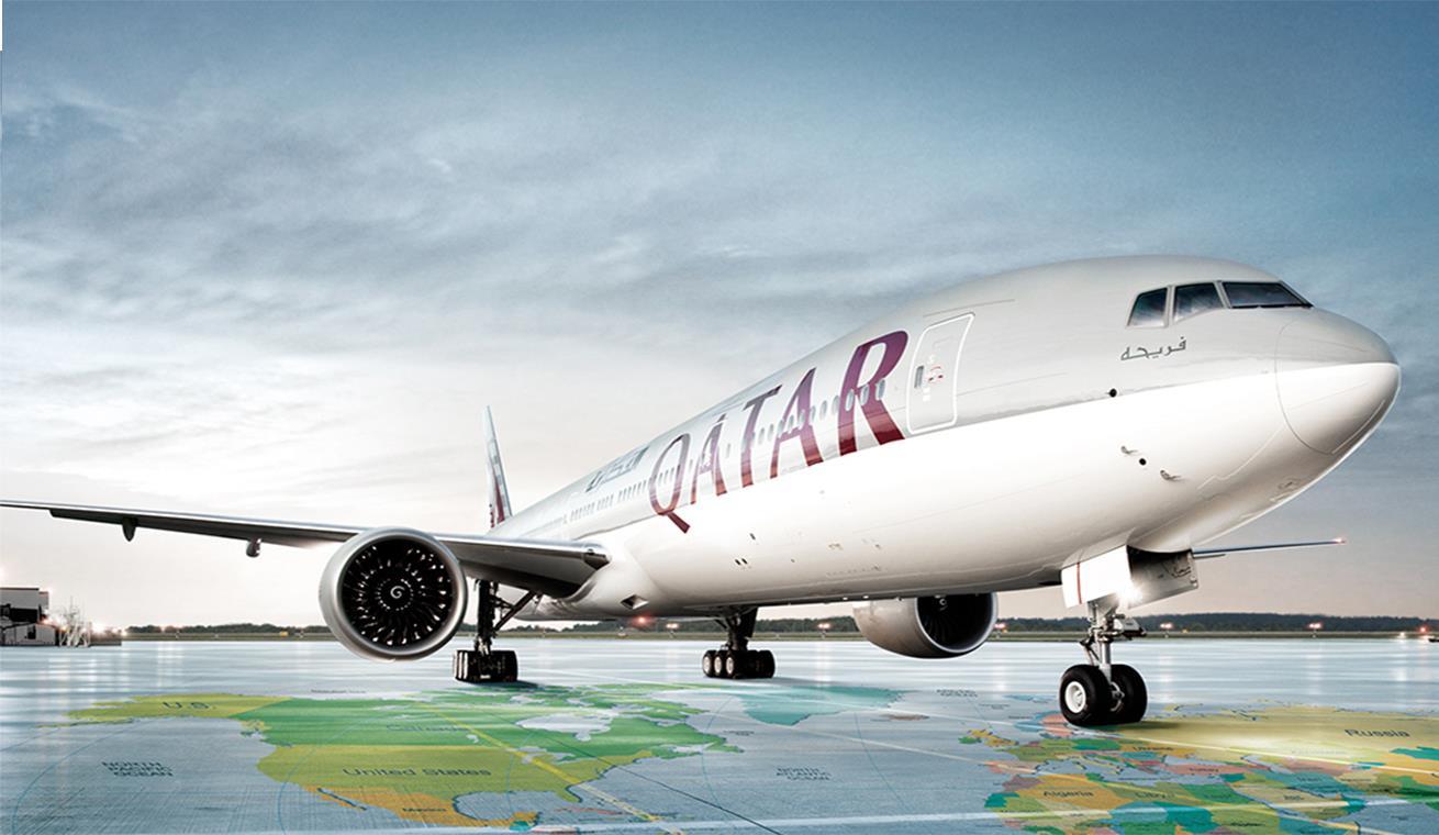Pesawat Qatar Airways Dengan Tujuan Rute Indonesia Terpaksa Mendarat di India