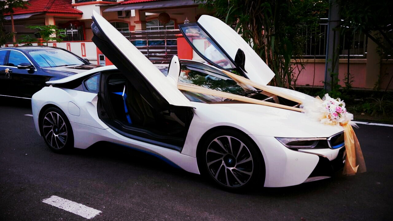 Redorca Malaysia Wedding And Event Car Rental Bmw I8