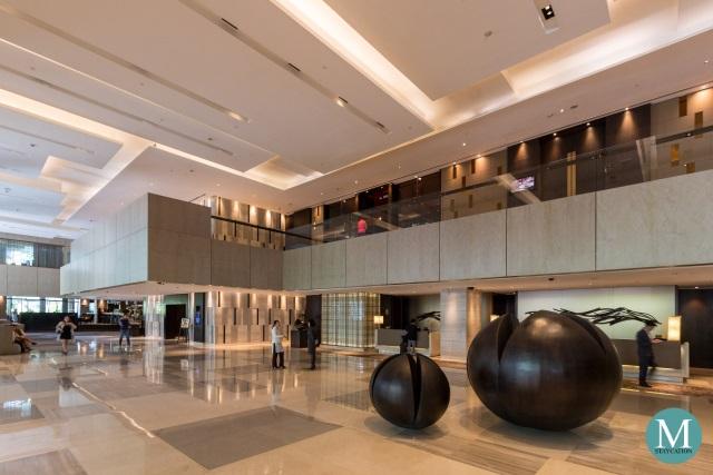 Lobby of New World Makati Hotel