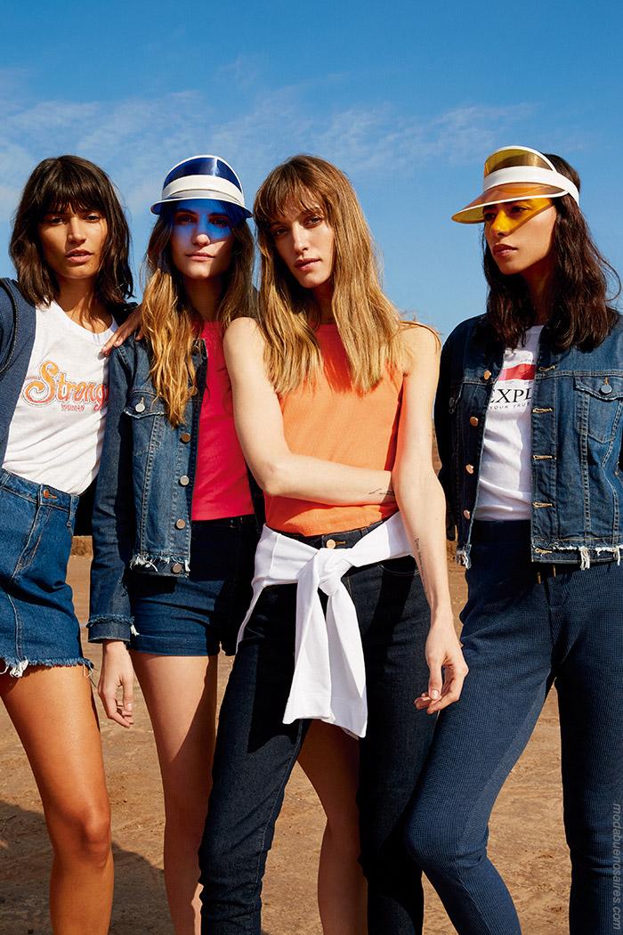 Pantaloens de jeans primavera verano 2020. Moda primavera verano 2020.