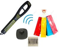 防盜標籤檢測,防盜扣檢測,rf label tester,手持式檢測槍