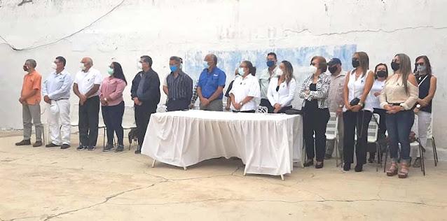 OPOSICIÓN CAROREÑA RINDIÓ HOMENAJE PÓSTUMO A DOMINGO MONTES DE OCA