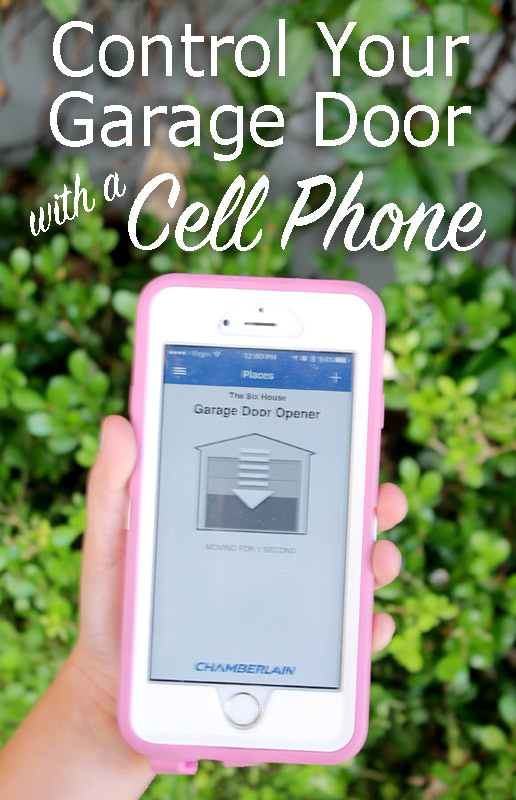 Cell Phone Operated Garage Door Opener Dandk Organizer