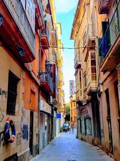 www.viajaportodoelmundo.com.  Casco Antiguo Palma de Mallorca