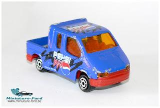Majorette, Ford Transit, Pepsi Max