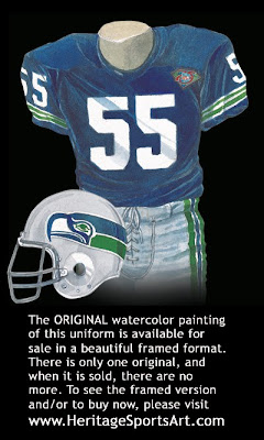 Seattle Seahawks 1994 uniform