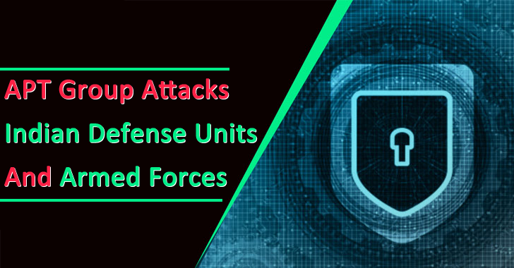 APT Group Attacks Indian Defense Units and Armed Forces Since 2019 Aimed to Steal Sensitive Data