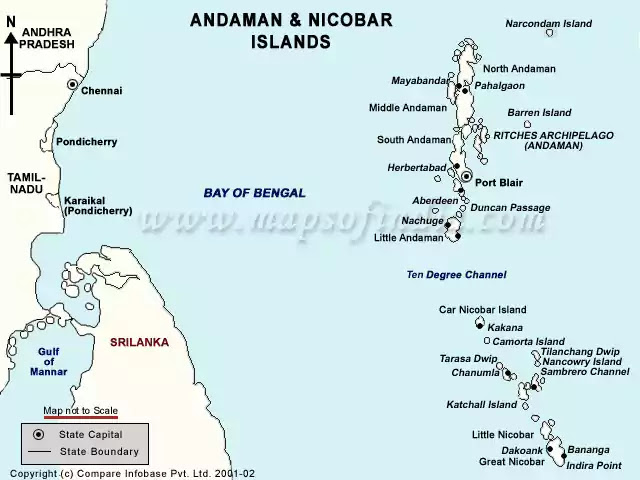 Andman and Nicobar