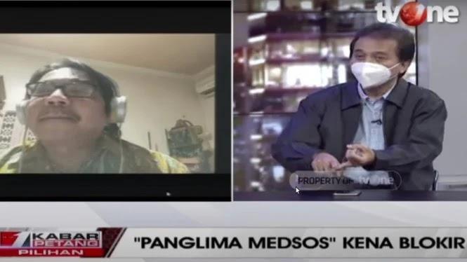 Debat Terbuka di TV, Roy Suryo Ngamuk Gegara Ade Armando Malah Bawa-bawa Panci