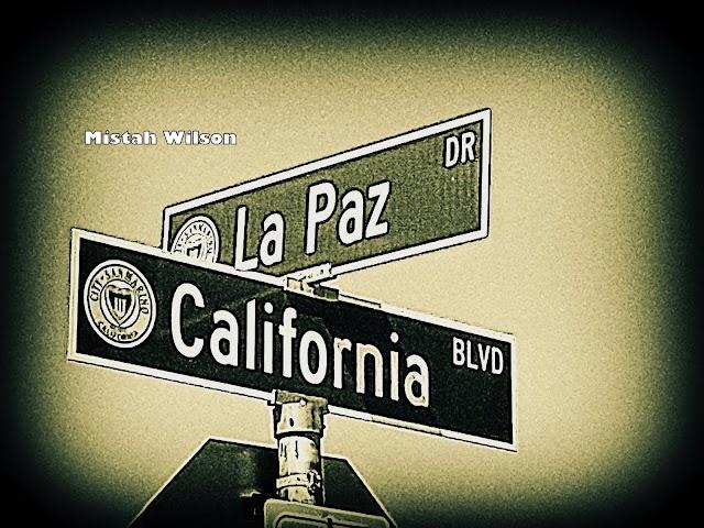 La Paz Drive & California Boulevard, San Marino, California by Mistah Wilson