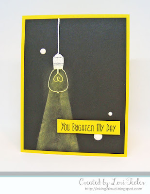 You Brighten My Day card-designed by Lori Tecler/Inking Aloud-stamps from SugarPea Designs