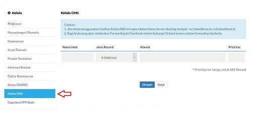 cara setting domain custom blogspot