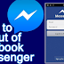 Facebook Messenger Log Out 2017