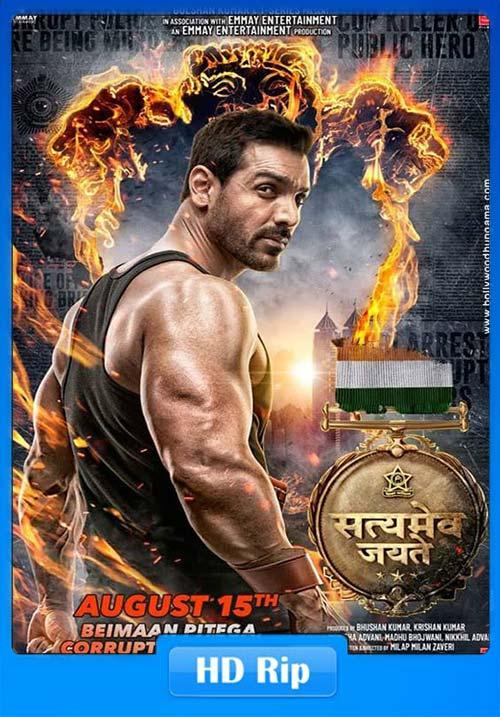 Satyameva Jayate 2018 Hindi 720p HDRip x264 | 480p 300MB | 100MB HEVC