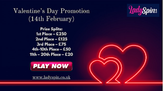 Valentine's Day Promotion (14th February)