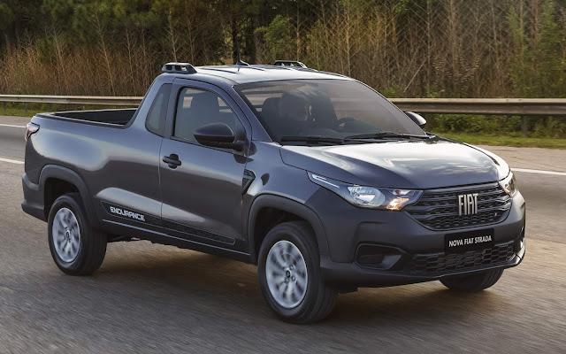 Nova Fiat Strada 2021 - Preços