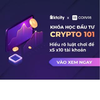 Share khoá học đầu tư Crypto 101 của coin 98 - Hướng dẫn cách đầu tư đúng đắn trong thị trường tiền điện tử crypto của tác giả Lê Thanh
