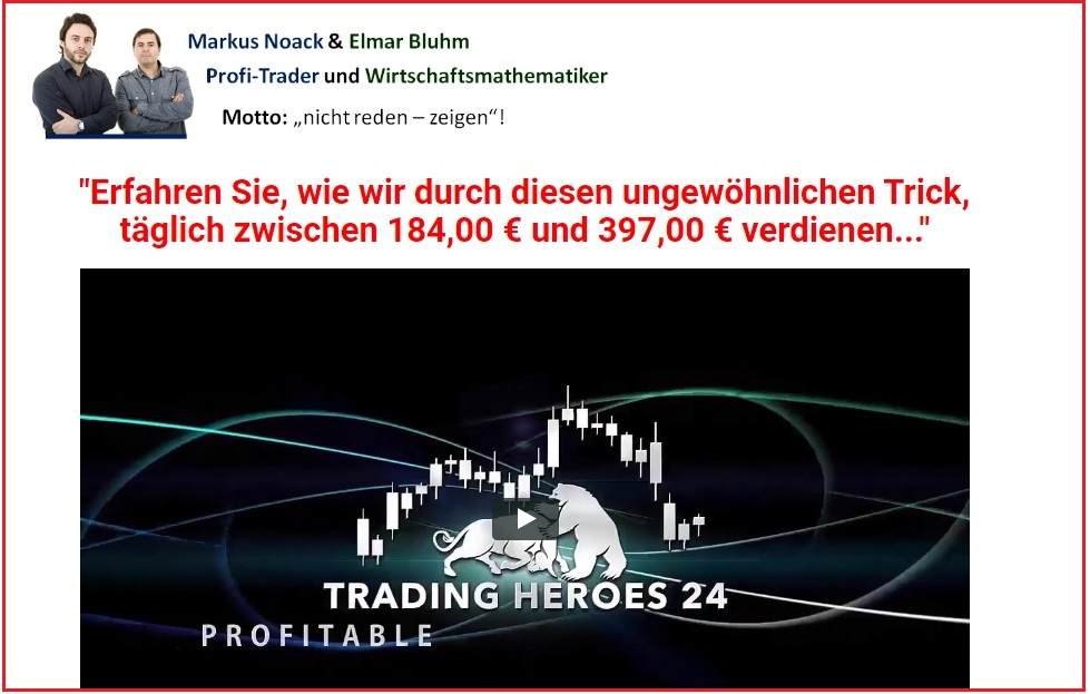 Einfaches trading system