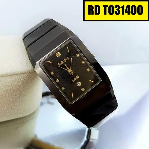 Đồng hồ nam mặt chữ nhật Rado RD T031400