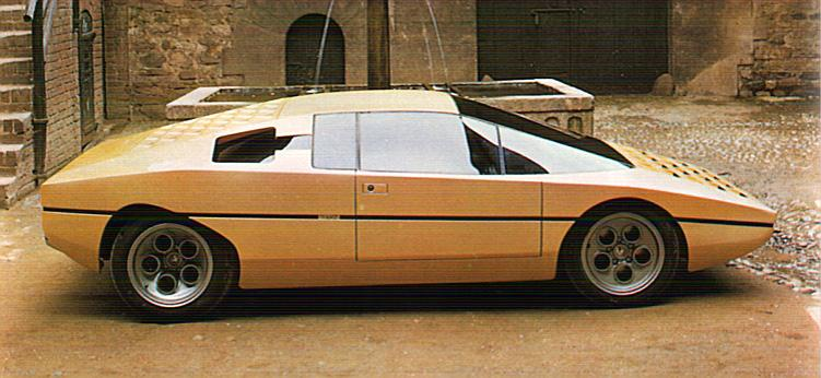Karznshit 74 Lamborghini Bravo P114 By Bertone