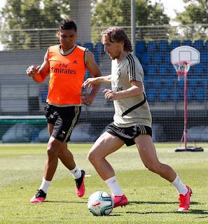 Arranca una nueva semana de entrenamientos en la Ciudad Real Madrid