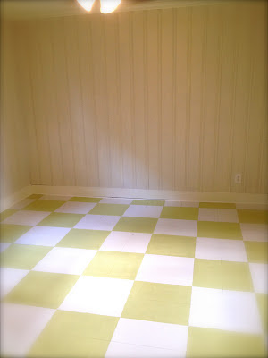 linoleum flooring kitchen sheshe the home magician an entire room becomes a blank 3814