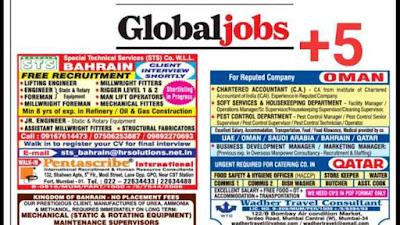 Global Jobs ~ 23 February