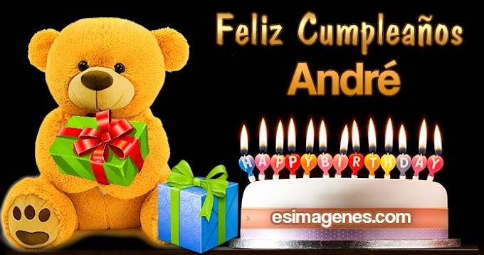 Feliz cumpleaños André