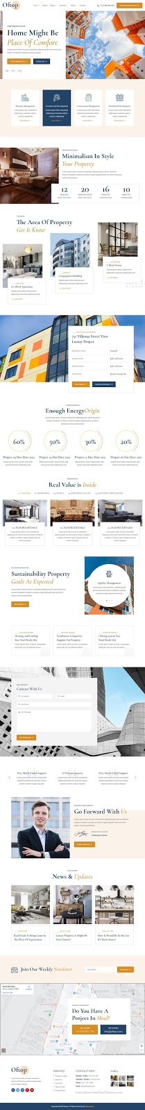 Download Single Property Real Estate Template