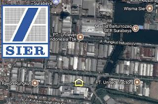 database lengkap pabrik / PT di SIER Surabaya Jawa Timur Indonesia