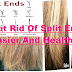 Get Rid Of Split Ends Easier And Healthier Using This 10 Home Remedies!