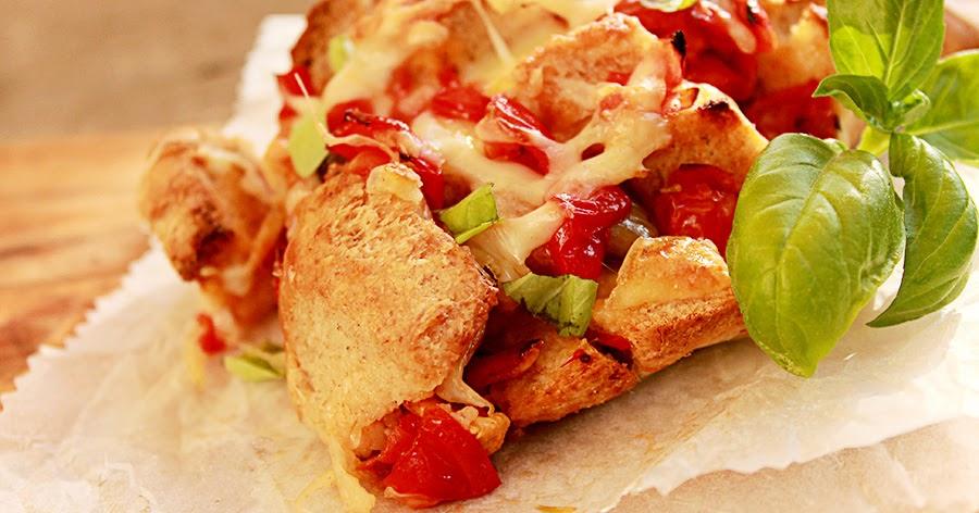 Apart pull bread con biova semintegrale. Tutto italian style!