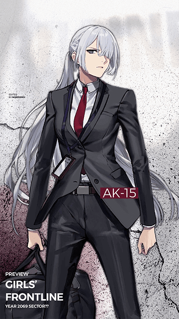 AK-15 - Girls' Frontline Wallpaper