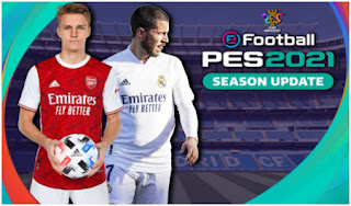 Download PES 2021 PPSSPP Update English Version with New Peter Drury Commentary & Latest transfer (February)