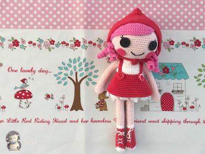 Caperucita roja amigurumi